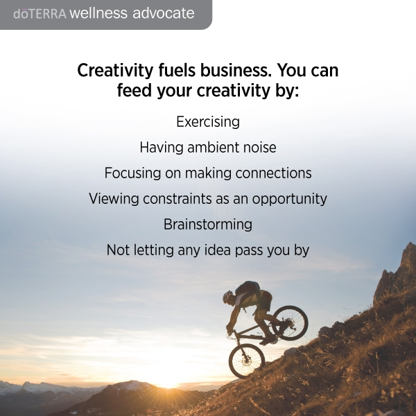 Use Doterra tools for your creative business ideas.