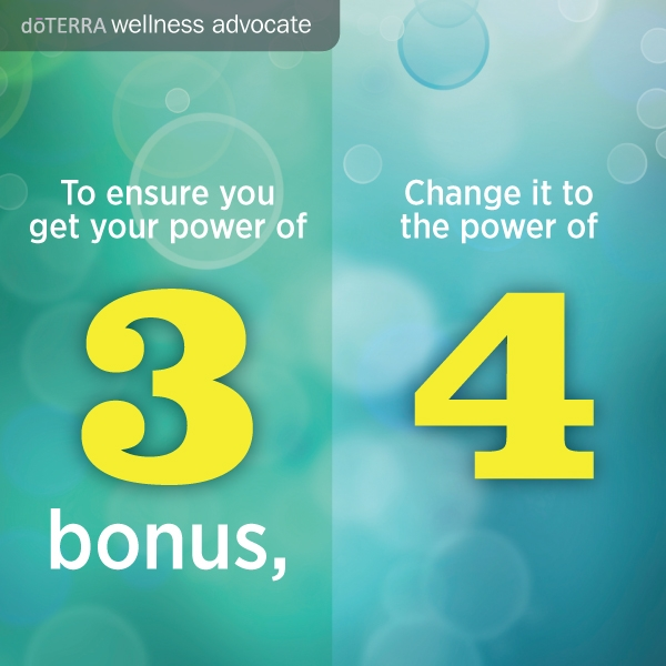 The Doterra power of 3 rethink