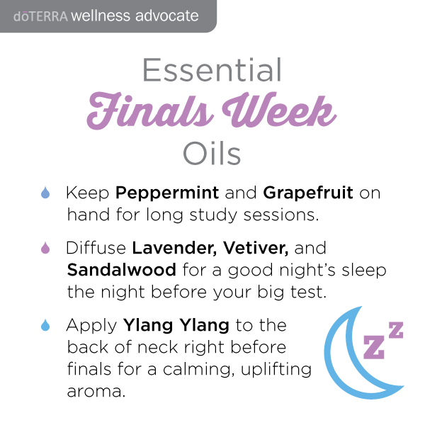 Doterra oils for studying