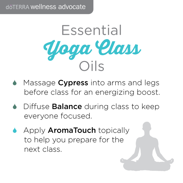 Doterra oils for yoga