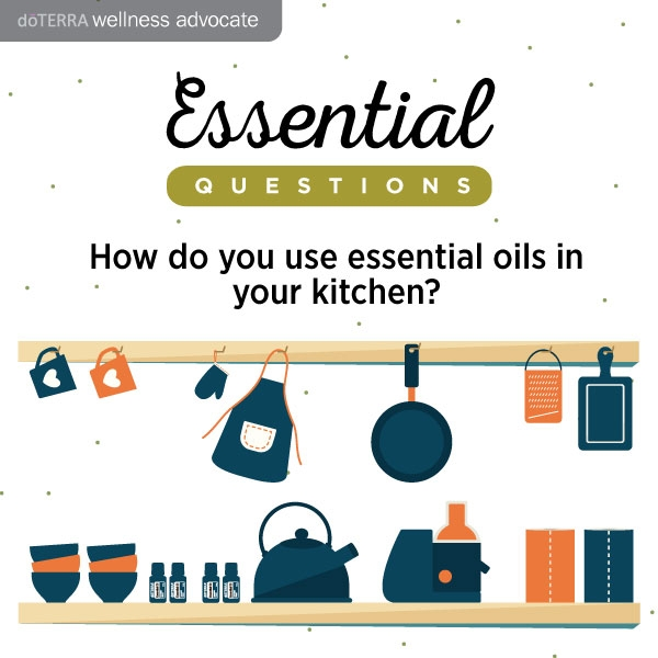 How to use On Guard cleaner concentrate in the kitchen