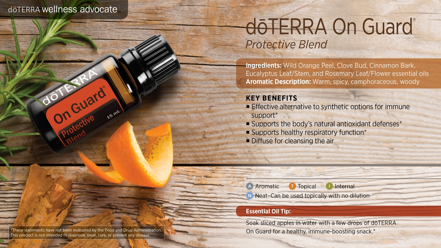 Doterra on guard uses