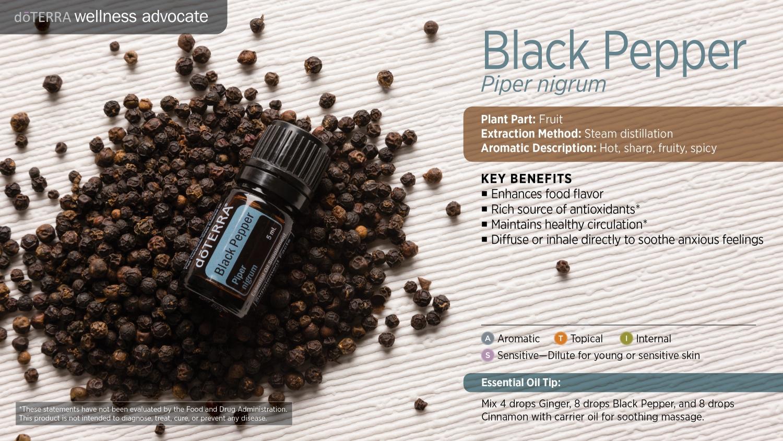 Doterra black pepper oil