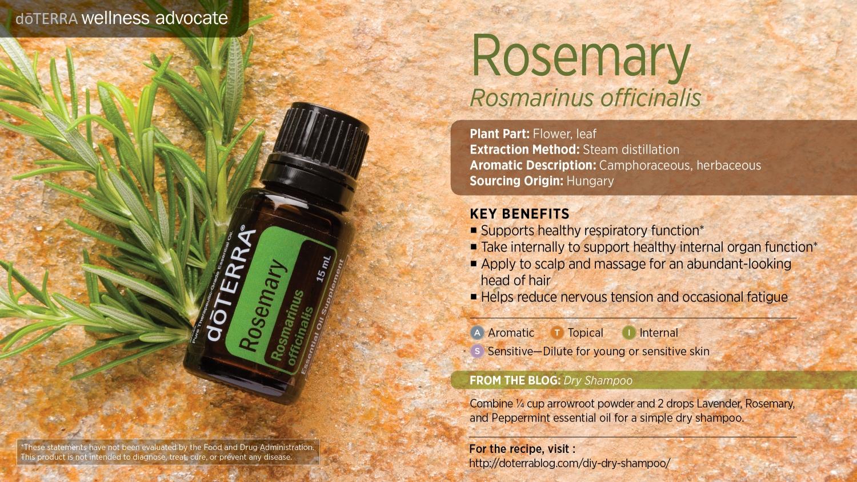 Doterra rosemary oil