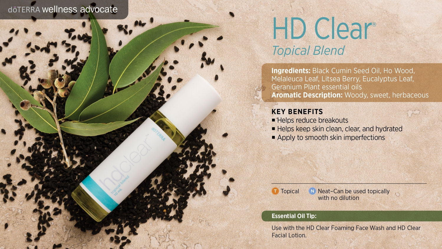 Doterra HD Clear topical blend