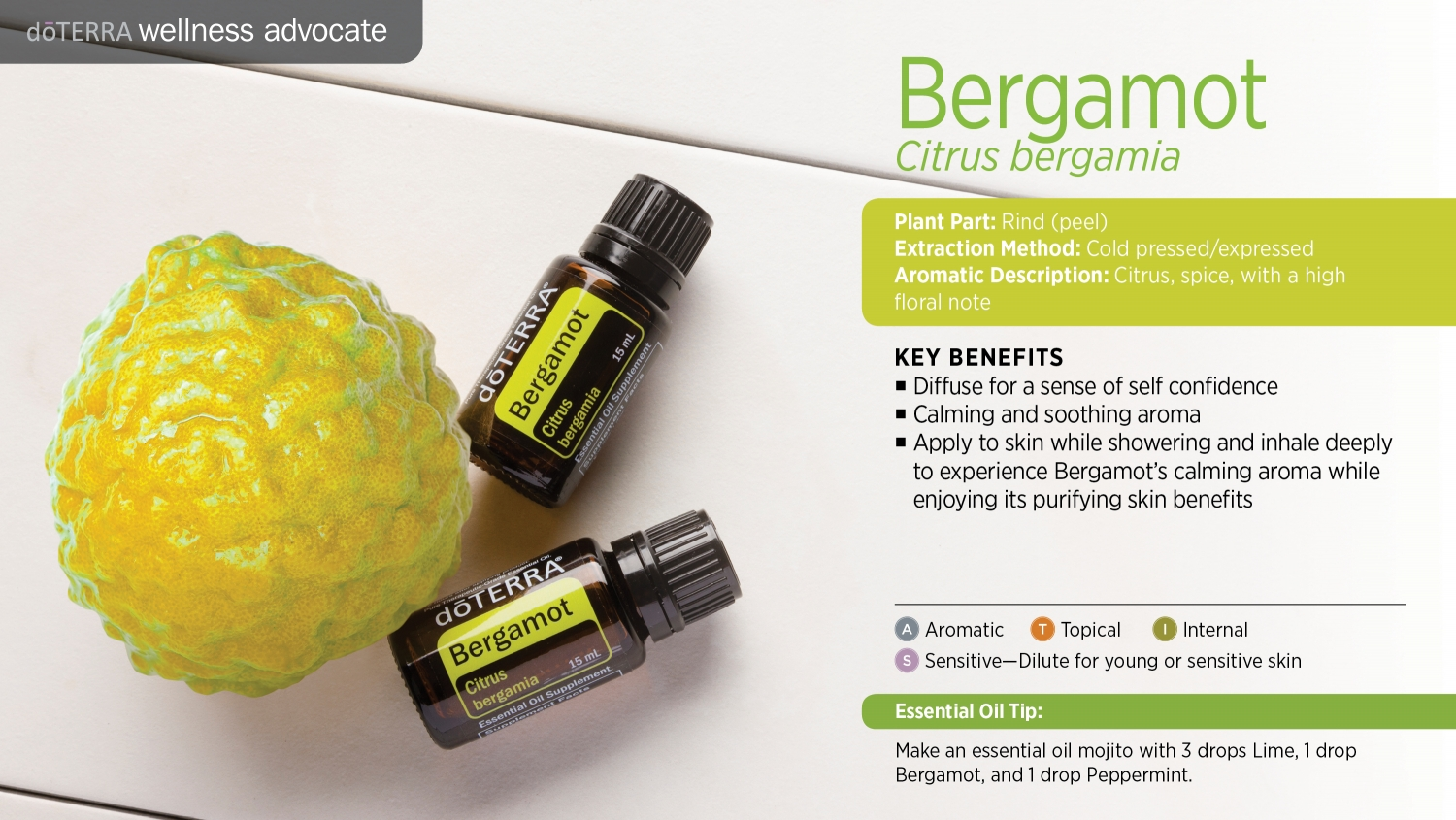 Doterra bergamot essential oil