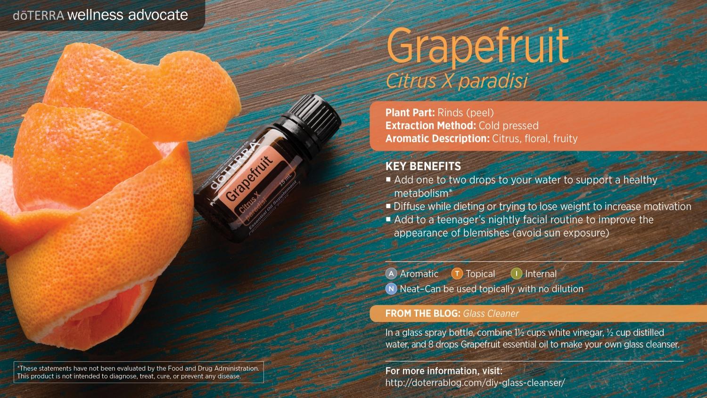 Doterra grapefruit oil
