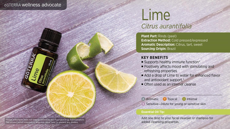 Doterra lime oil