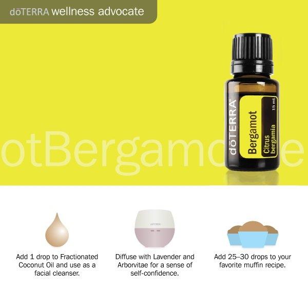 3 Doterra bergamot oil uses