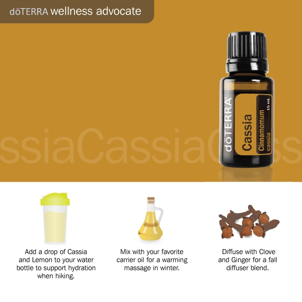 3 Doterra Cassia oil uses