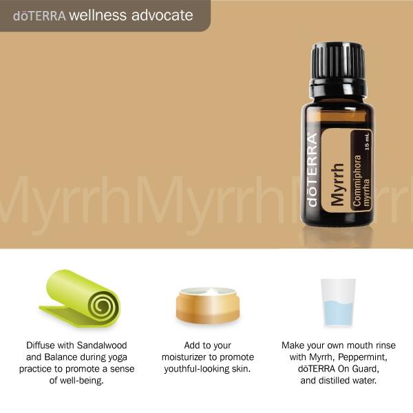 3 Doterra myrrh essential oil benefits