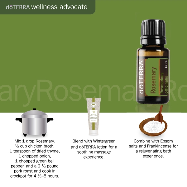 3 Doterra rosemary uses