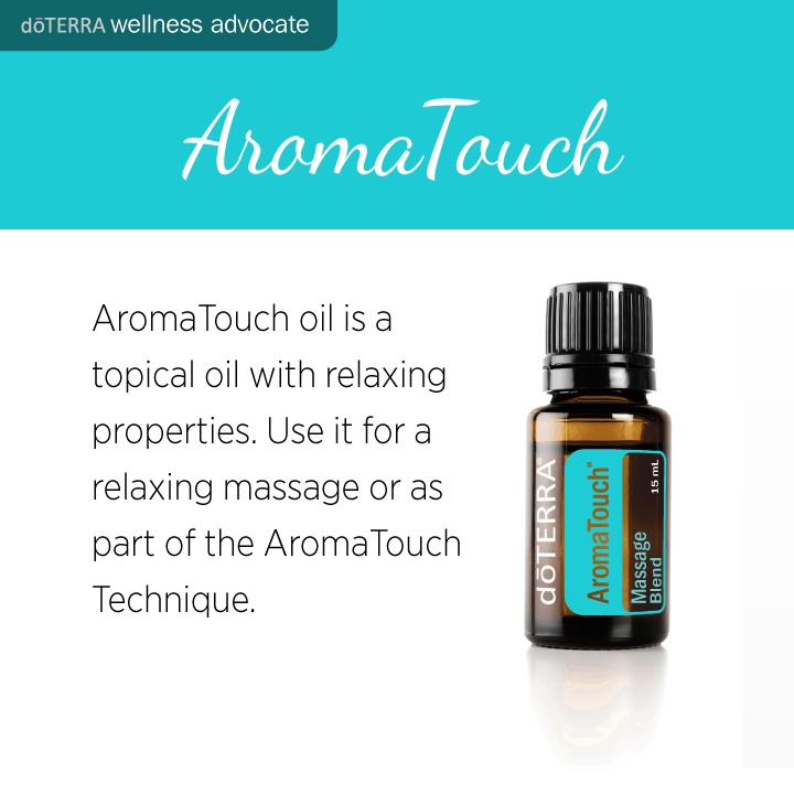 Doterra AromaTouch Product Cards