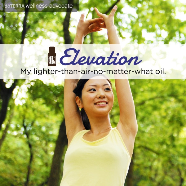 Energize yourself with Doterra elevation oil blend