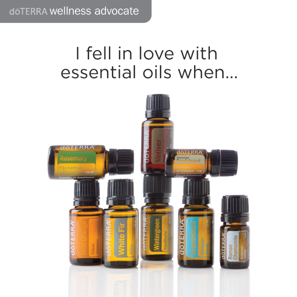 I fall in love with Doterra everyday